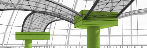 Gebäude-Säulen